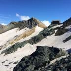 28/08/2014 Saas Fee/ Britanniahütte auf 3030m über dem Meer