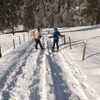 Auf Schneeschuhen im Melchtal Dezember 2017