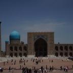 Über das Taxifahren – Samarkand